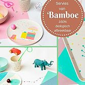 Bamboe kinderservies