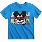 Disney Mickey Kurzarm shirt blauw