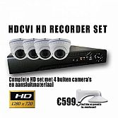 HDCVI set met 2 camera