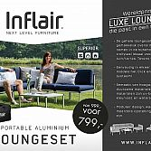 Inflair portable loungeset