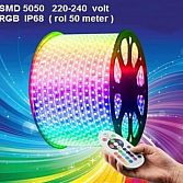 Led strip 5050 ip65 Waterproof 220 volt rgb