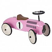 Metalen Roze Loopauto