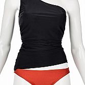 One shoulder prothese tankini top