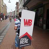 Walking Billboard huren - WalkingBillboard.nl