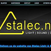 Website Stalec Light & Sound
