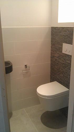 Betegelen toilet en of badkamer - Betegelen van natuurstenen badkamer ...